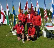 Nordiske mesterskab Sverige 2015, danske bruttohold